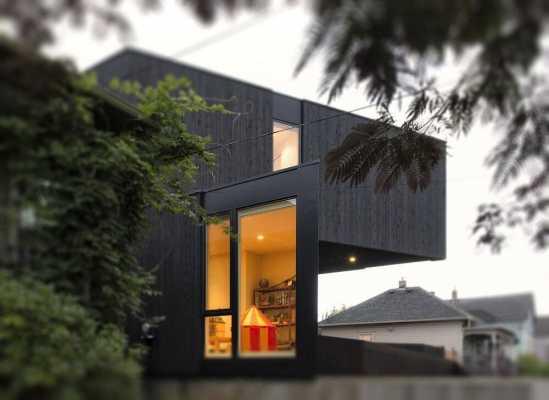 Taft House – An Open Plan House Built Using a Prefabricated Modular System