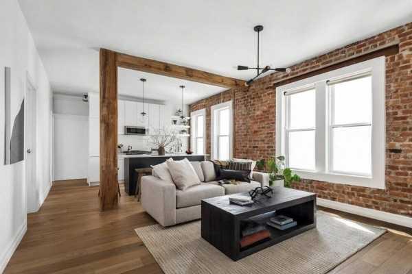 Prewar Williamsburg Apartment by OAD Interiors
