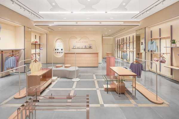 Maia Active Flagship Store – An Energy Field full of Macaron Colors