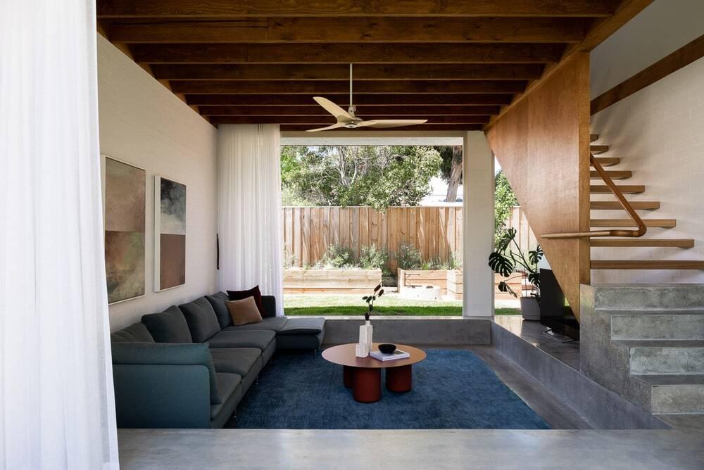 living area, Nic Brunsdon