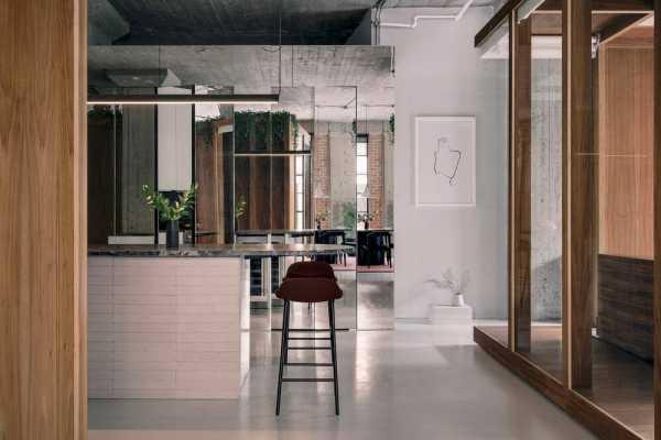 Rue de la Gauchetière Loft by Future Simple Studio