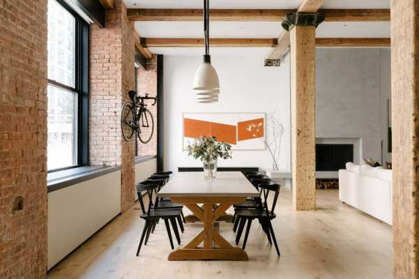 Spears Building Loft, New York by Ravi Raj Architect
