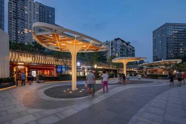 Lighting Heals Urban Space – Beijing CR Land·Instreet / PROL