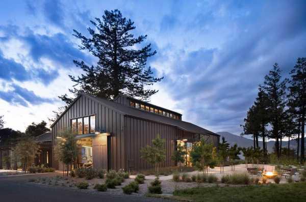 Theorem Winery, Calistoga, California by Richard Beard Architects