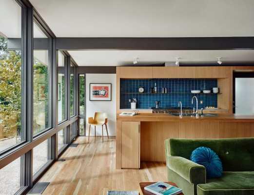 Austin Midcentury-Modern House by Nick Deaver Architect