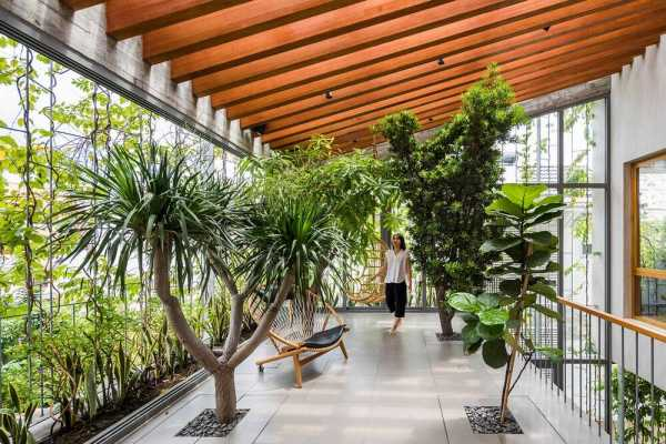 Stepping Park House in Ho Chi Minh City by VTN Architects