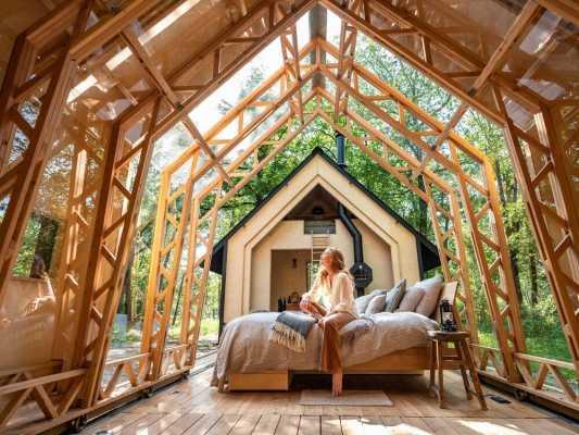 Cabin ANNA Stay by Dutch Designer Caspar Schols