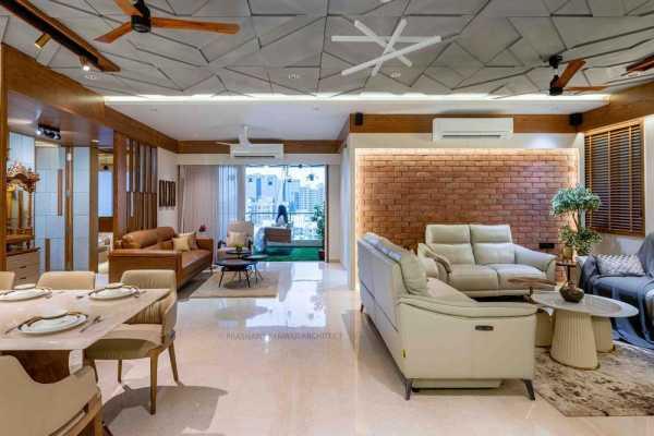Luxury 4BHK Apartment Interior at Arjun Skylife