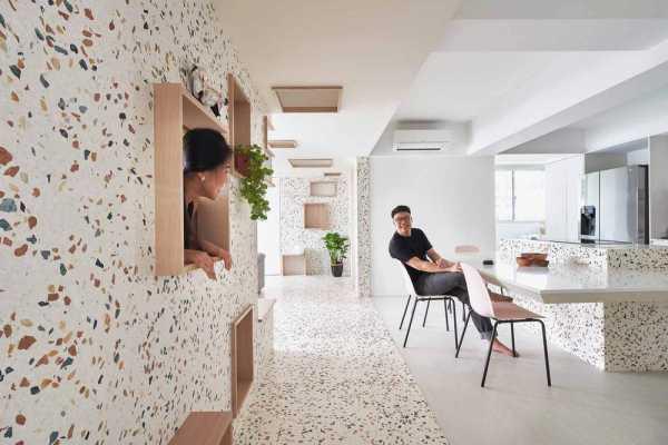 The Holey Moley Apartment by Asolidplan