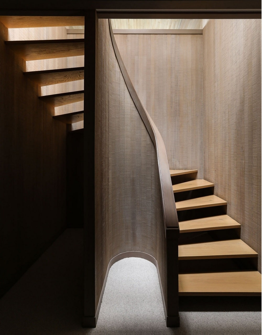 staircase, Graham Baba Architects