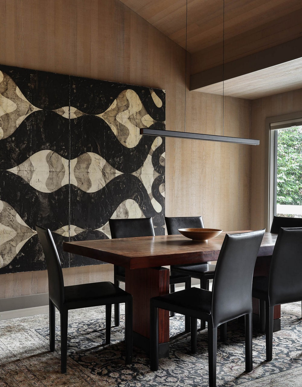 dining room, Graham Baba Architects