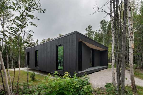 Reflection Cabins by Bourgeois / Lechasseur Architects