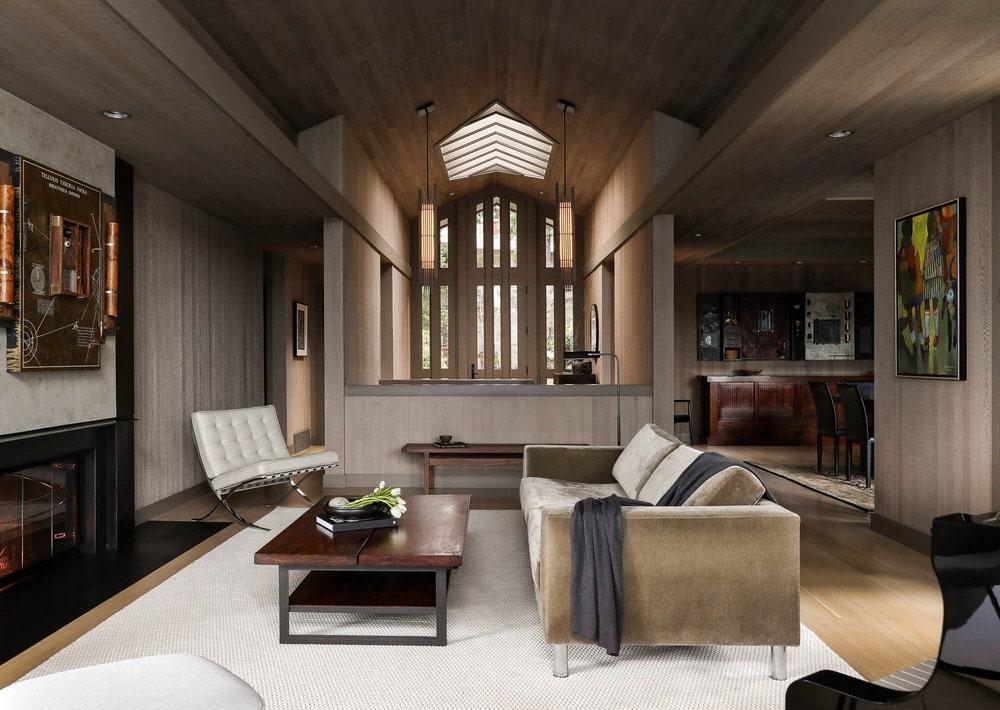 living room, Graham Baba Architects