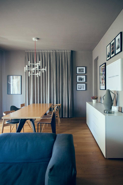 living space, dining area, Andrea Rubini Architetto