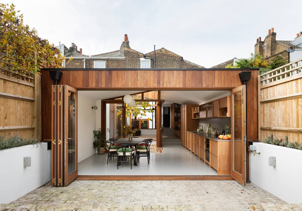 A Cloistered House by Turner Architects