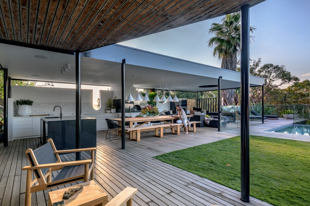 outdoor pavilion, Carter Williamson Architects
