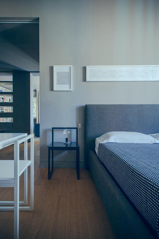 bedroom, Andrea Rubini Architetto