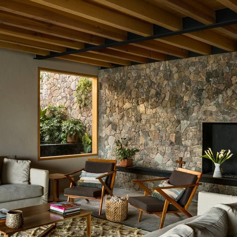 living room, Arquitectura Sergio Portillo