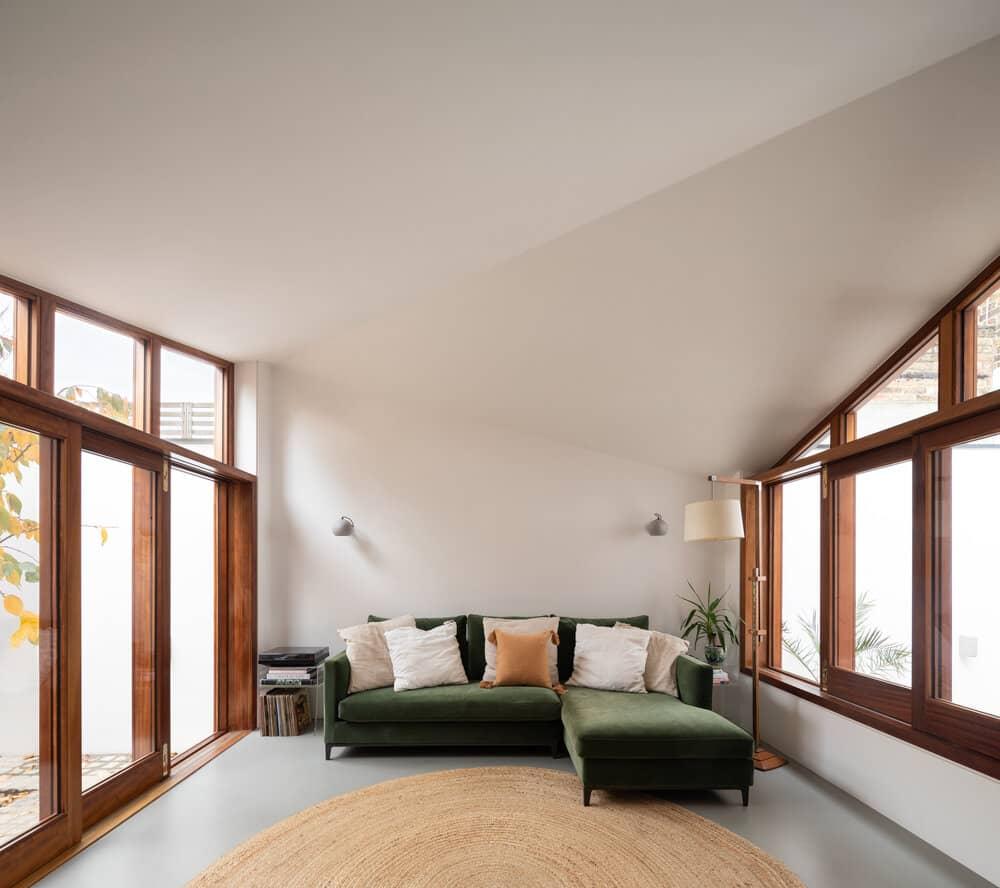 living room, Turner Architects
