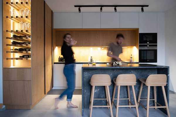 Top Floor Apartment Design by Bence Solti – ShapeInterior