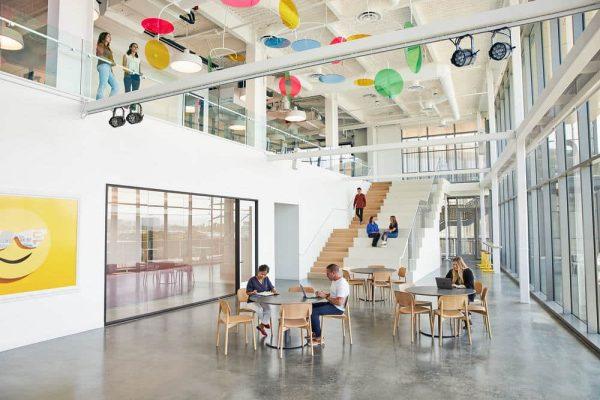 Happy Money Office by Rapt Studio