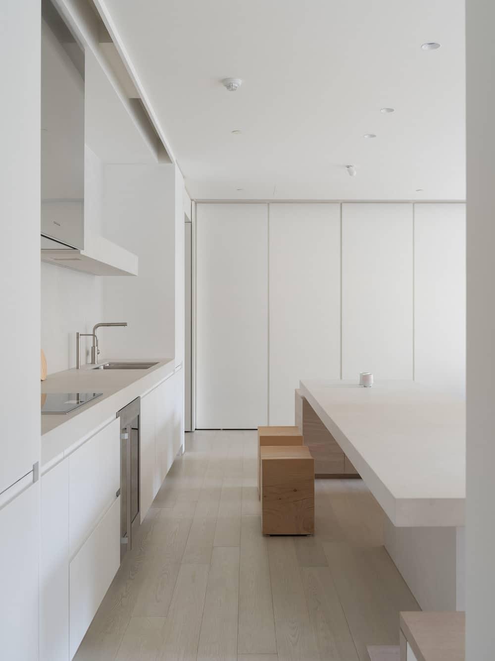kitchen, Marty Chou Architecture