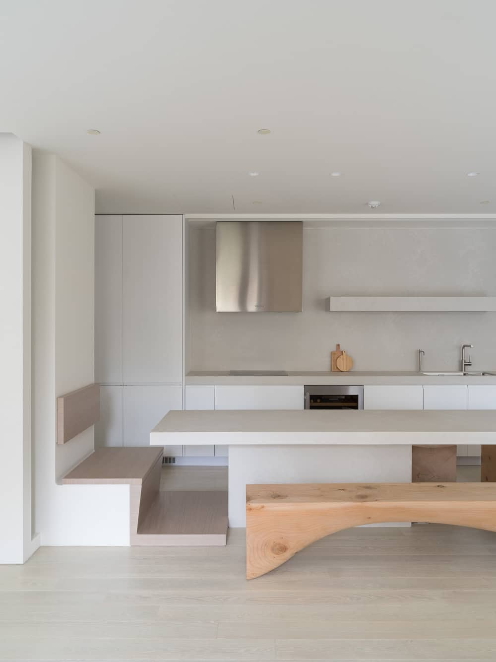 kitchen, dining area, Marty Chou Architecture