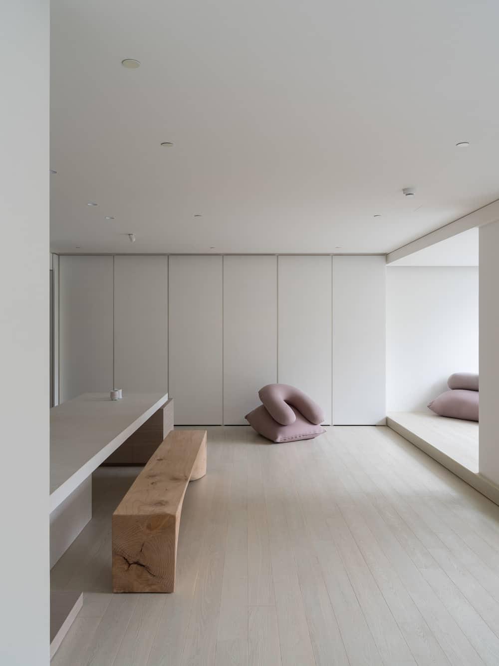 minimalist interiors, Marty Chou Architecture
