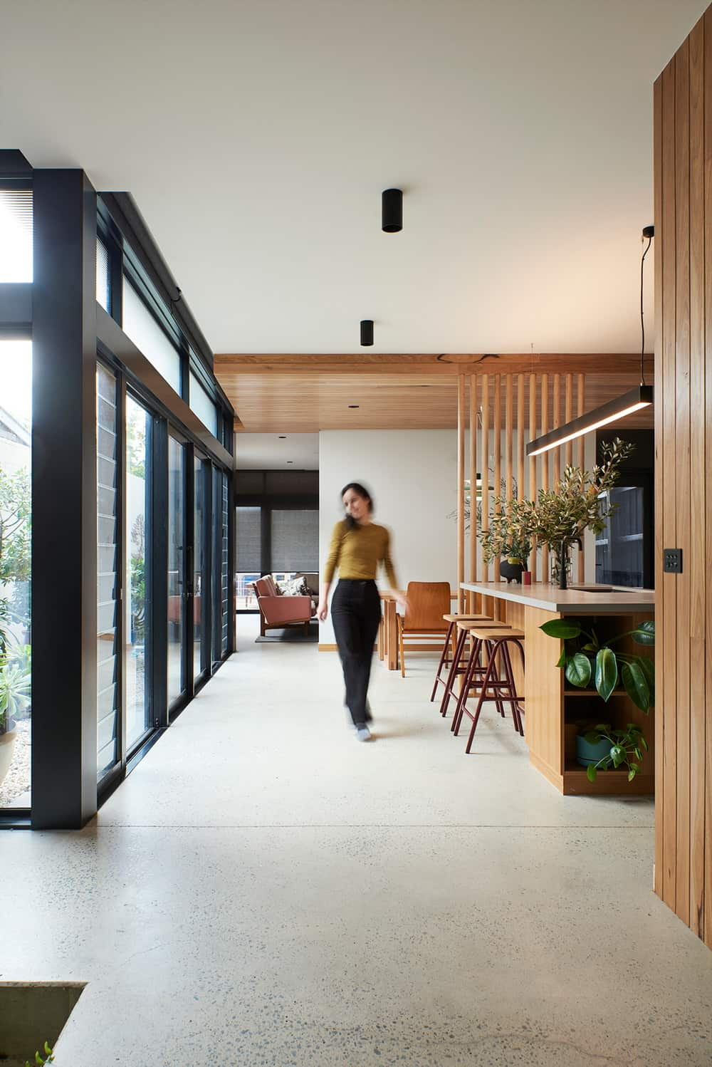 Kew Courtyard House by Drawing Room Architecture