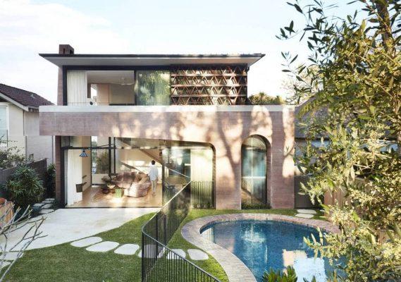 La Casa Rosa by Luigi Rosselli Architects