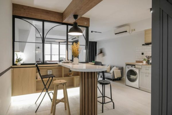 RUST Apartment by Co+in Collaborative Lab