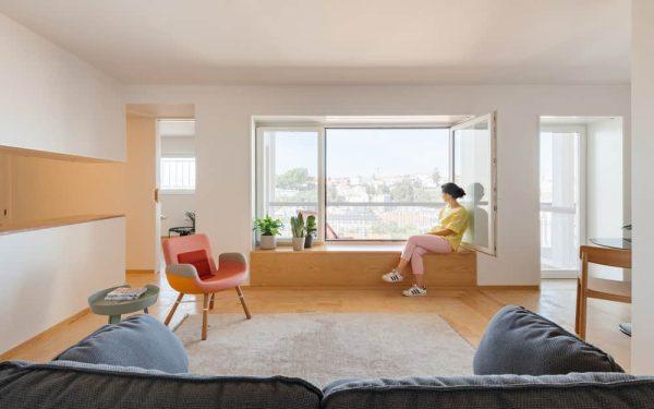 Taipas Apartment Building by Aurora Arquitectos